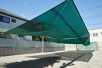 日よけテント