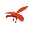Flying始祖鳥(遊べる切り紙)