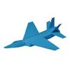 Flyingジェット戦闘機(遊べる切り紙)